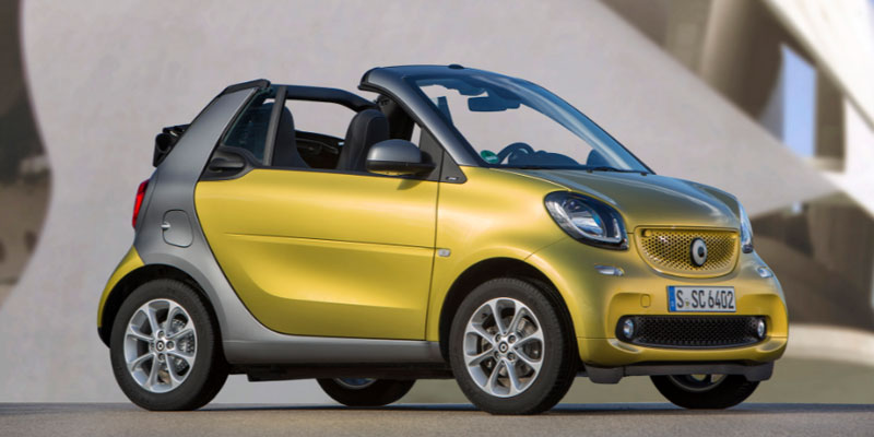 Imagine cu Smart Fortwo W453