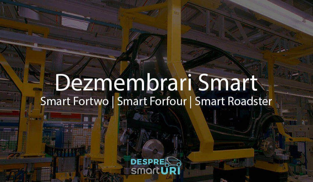 Dezmembrari Smart Fortwo, Smart ForFour, Smart Roadster