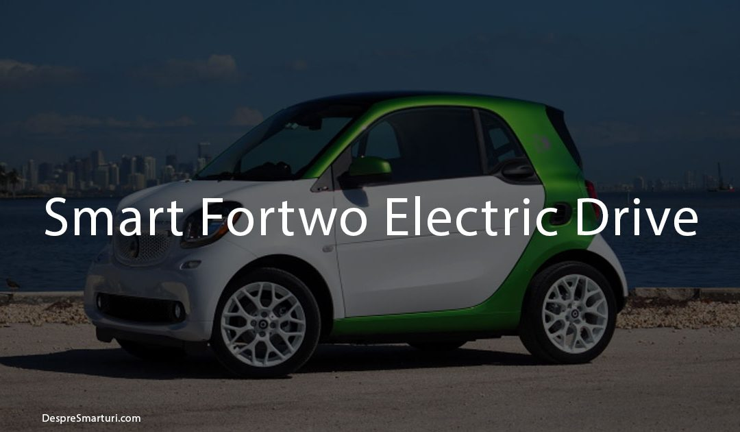 Imagine cu Smart Fortwo Electric