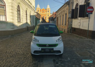 Imagine cu Smart Fortwo Electric.
